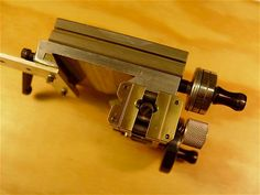 Taig Micro Lathe Lead Screw with Split-nut, Variable DC Motor Drives