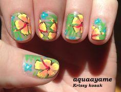 aquaayame #nail #nails #nailart