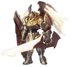 darksiders concept art angels - Google Search