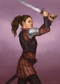 """thalia-art: """" Female warriors from my project. """"                              …"""