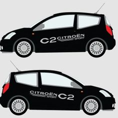 Image result for vehicle graphics citroen c2