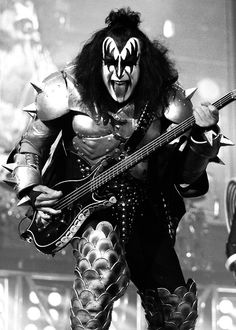 Gene Simmons' tongue is insured for more than twice that of Ronay's, coming in at a million dollars. #insurance #funfacts #tongues #kiss