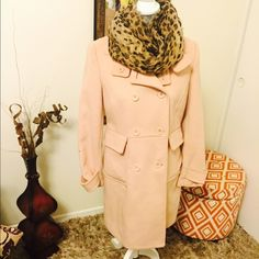 Forever 21 coat ! Light pink fashion coat 47%wool 53%polyester is just so perfect for winter  Forever 21 Jackets & Coats Pea Coats