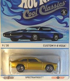 Hot Wheels COOL CLASSICS - Custom V-8 Vega   B case