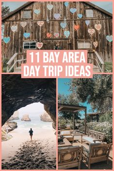 Within a couple of hours of the main Bay Area cities there are quite a few options! We're sharing 11 Bay Area Day Trip ideas to check out. Northern California Travel, California Travel Guide, California Vacation, San Bruno California, California Fashion, California Style, Southern California, One Day Trip, Weekend Trips