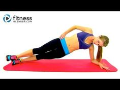20 Minute Outer Thigh Workout - Sayonara Saddlebags! Outer Thigh Exercises