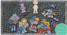 12 tulostettavaa keskittymispussia lapsille – Hyvin kasvatettu Kindergarten, Education, Calendar, Ideas, Kindergartens, Life Planner, Onderwijs, Learning, Thoughts
