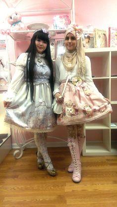 The absolutely gorgeous thehijabilolita.tumblr.com and Fumiko Kawamura of Enchantillic Enchantilly!