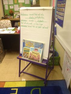 Teaching Easel in the Classroom | Do It Yourself Home Projects from Ana White @Scott Eberle  - would you make this for me???