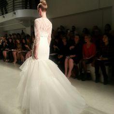 Amsale wedding dress, fall 2014 collection. Photo: Charanna K. Alexander/The New York Times
