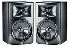 """JBL LSR308 8"""" Two-Way Powered Studio Monitor In 2019, Monitor, Studio, Top, Music, Musica, Musik, Studios, Muziek"""