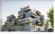 pARIS HOUSING Competition rendering