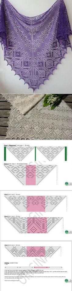 Красивая шаль                                                                                                                                                     More