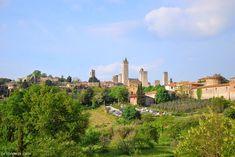 Ruta de una semana por la Toscana: San Gimignano Toscana Italia, Siena, Monument Valley, New York Skyline, Dolores Park, Spain, World, Nature, Trips
