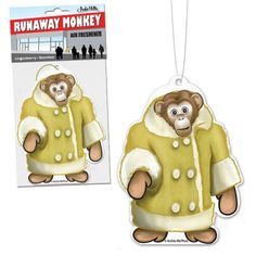 Runaway Monkey Air Freshener