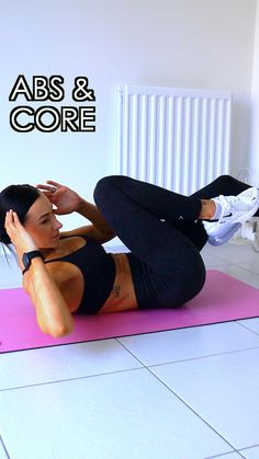 Sixpack Workout, Ab Core Workout, Gym Workout Videos, Gym Workout For Beginners, Butt Workout, Workout Challenge, Fitness Workouts, Abs Workout Routines, Fitness Workout For Women