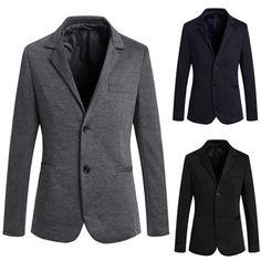 Two Buttons Slim Fit Men's Fashion Blazer Mens Fashion Blazer, Men's Fashion, Blazers For Men, Mens Fitness, Buttons, Slim, Jackets, Clothes, Collection