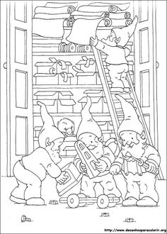 free s christmas coloring pages printable and coloring book to print for free. Find more coloring pages online for kids and adults of free s christmas coloring pages to print. Christmas Coloring Pages, Coloring Book Pages, Printable Coloring Pages, Christmas Elf, Christmas Colors, Illustration Noel, Christmas Drawing, Christmas Embroidery, Digi Stamps