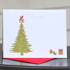 Holiday Cards Cardinal Rule by deanpennandpaper.  Another possible for this year!
