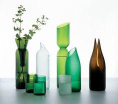ECOMANIA BLOG: Arte y diseño con cristal reciclado