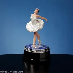 "Swan Lake Ballet Musical Box rotating wif a 18 note movement, plays ""Swan Lake"" Music Box Ballerina, Swan Lake Ballet, Ballerina Figurines, Artistic Visions, Metal Comb, Gcse Art, Dancer, Ballet Skirt, Music Boxes"