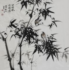 Find More Painting & Calligraphy Information about Christmas gift traditional Chinese painting oriental decoration ink brush painting bamboo watercolor paintings famous artists,High Quality bamboo make up brush,China bamboo fiber Suppliers, Cheap bamboo panties from [MoHuaZhai]art gallery on Aliexpress.com
