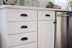 Home // How To Paint Kitchen Cabinets - Lauren McBride