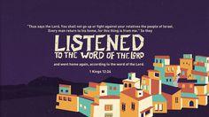 "Verse of the Day from Logos.com    열왕기상 12:24, ""여호와의 말씀이, '너희는 올라가지 말라. 너희 형제 이스라엘 자손과 싸우지 말고, 각기 집으로 돌아가라. 이 일이 나로 말미암아 난 것이라.' 하셨다."" 하라 하신지라. 그들이 여호와의 말씀을 듣고, 그 말씀을 따라 돌아갔더라."
