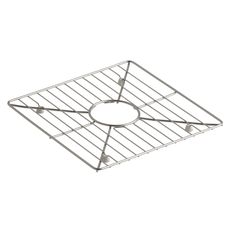 """Poise Stainless Steel Sink Rack, 13-3/16"""" x 13-3/16"""", for Kitchen and Bar Sinks"""