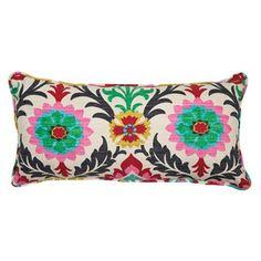 Santa Maria Lumbar Pillow in Desert Flower