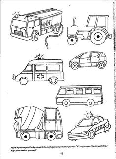 Drawing for kids, art for kids, pre school, transportation unit, toddler . Coloring Pages For Boys, Cartoon Coloring Pages, Colouring Pages, Coloring Books, Baby Drawing, Drawing For Kids, Art For Kids, Transportation Theme Preschool, Daniel And The Lions
