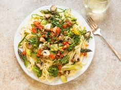 The freshest vegetables of the season are the secret to infusing this Italian classic with color and flavor.