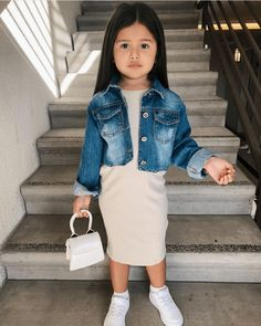 Cute Baby Girl Outfits, Cute Outfits For Kids, Toddler Girl Outfits, Cute Baby Clothes, Baby Girl Fashion, Toddler Fashion, Kids Fashion, Outfits Niños, Mother Daughter Outfits
