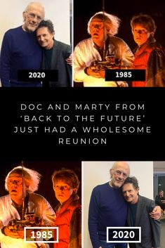 Doc And Marty From Back To The Future Just Had A Wholesome Reunion Back To The Future The Future Movie Future Memes