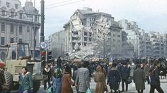 At on the evening of March Bucharest was hit by an earthquake measuring a whopping on the Richter scale. Old Pictures, Old Photos, Vintage Photos, Paris, Bucharest Romania, Old City, Abandoned Houses, Tourism, Colorado