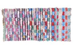 "'Only You' Boucherouite Rag Rug 5'06"" x 2'10"" (RB11)"