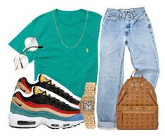 """Untitled #152"" by trillqueen34 ❤ liked on Polyvore featuring Ralph Lauren, Loren Stewart, NIKE, Cartier, MCM and Retrò"