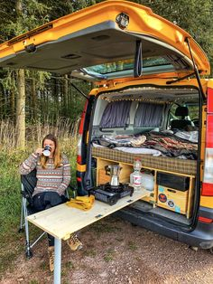 17 Most Popular Easy DIY RV Camping Tool Ideas That You Need To Prepare - Travel until I can't no more - The Effective Pictures We Offer You About van life ideas A quality picture can tell you many thing - Kangoo Camper, Sprinter Camper, Car Camper, Rv Campers, Diy Van Camper, Camper Van Life, Mini Camper, Camping Ideas, Camping Tools