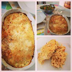 Receita Dukan: Torta de Frango lowcarb