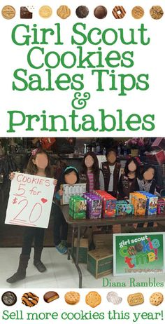 Tips for Successful Girl Scout Cookie Sales Girl Scout Cookie Booth Ideas & Tips with Free Printables Selling Girl Scout Cookies, Girl Scout Cookie Meme, Girl Scout Cookie Sales, Girl Scout Cookies Recipes, Brownie Girl Scouts, Girl Guide Cookies, Girl Scout Leader, Girl Scout Troop, Scout Mom
