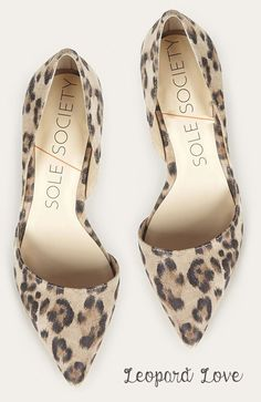 Leopard Love - Cute Heels!