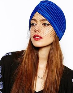 ASOS Turban With Net Detail