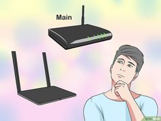Image titled Connect Two Routers Step 1 Computer Router, Internet Router, Wireless Router, Computer Help, Computer Tips, Computer Gadgets, Tech Gadgets, Computer Projects, Web Browser