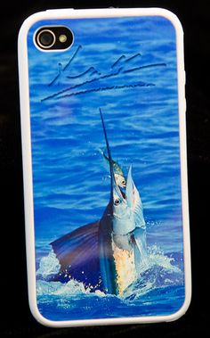 I MUST HAVE if you love FISHING!  Sam Root iPhone Case - Sailfish
