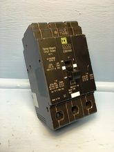 Square D EDB34060 60A Circuit Breaker 3 Pole 240 480Y/277V EDB-34060 HACR 60 Amp