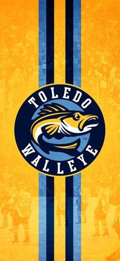Toledo Walleye logo wallpaper #WalleyeWallpaperWednesday Toledo Walleye, Symbols, Logo, Wallpaper, Sports, Hs Sports, Logos, Wallpapers, Sport