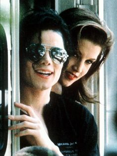Michael Jackson - with Lisa Marie Presley