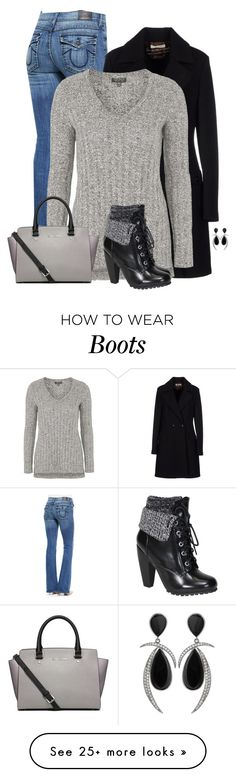 """New! Fall Forecast: Combat Boots!"" by cnh92 on Polyvore featuring True Religion, Beatrice.b, Topshop, Bamboo and Michael Kors"
