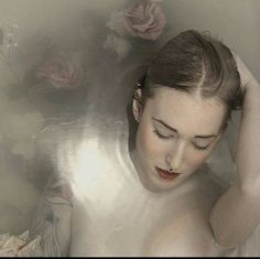 Rose bath art