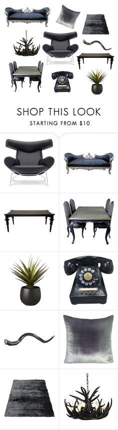 """escarabajo"" by jessica-gl on Polyvore featuring interior, interiors, interior design, home, home decor, interior decorating, CB2, Arteriors and Kevin O'Brien"